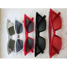 Красивые очки солнцезащитные в стиле диско