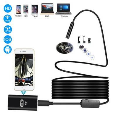 5м Wi-Fi / USB камера 720P 8мм бороскоп эндоскоп, жесткий кабель