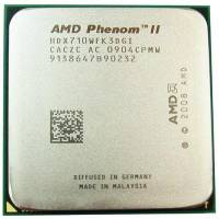 Процесор AMD Phenom II X3 710, 3 ядра 2.6ГГц, AM3