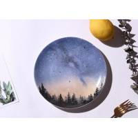 Керамічна тарілка зоряне небо 20 см