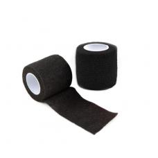 Бинт еластичний Coban 5см * 4.5м фіксує самоскрепляющійся, бинт Кобан, Чорний