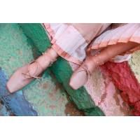 Женские сетчатые носочки с жемчугом, разные расцветки