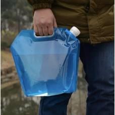 Складна ємність для зберігання і доставки харчових рідин 5 і 10 літрів