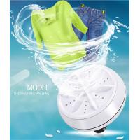 Портативна міні-пральна машина 2 в 1, персональна обертається ультразвукова турбінна мийка з USB-кабелем, зручна для подорожей, будинки