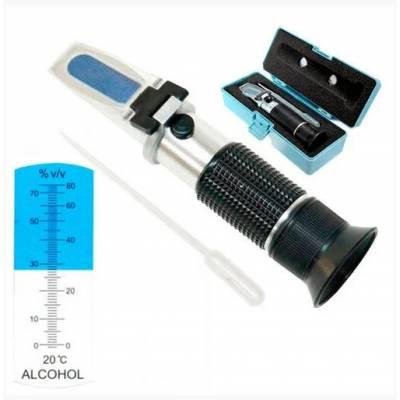 Рефрактометр для спирту алкоголю 0-80% vol спиртометр ATC RZ116