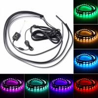 Декоративна RGB LED підсвічування днища авто 120х90 з пультом