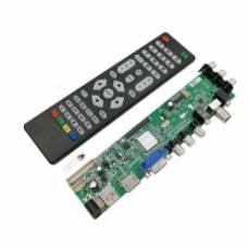 Універсальний контролер РК матриць, скалер 3663, DVB-T2
