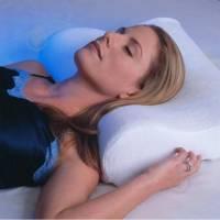 Подушка ортопедична 50х30см, антиаллергенная, Memory pillow + чохол