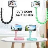 Гибкий держатель для телефона Cute Worm Lazy Holder