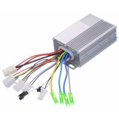 Контроллер для бесколлекторного мотора, мотор-колеса электросамокат, скутера 36/48В 17А 350Вт