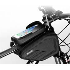 Нарамная сумка для велосипеда велосумка CoolChange водонепроницаемая 6''