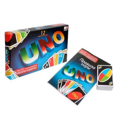 Настольная карточная игра UNO Уно 12 вариантов, эконом