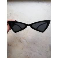 Модные узкие очки, черные