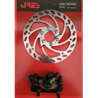 Тормоз дисковый Ares MDA11R+SE16B ротор 160 мм., задний (MDA11R+SE16B)