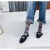 Шкарпетки в горошок прозорі