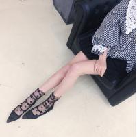 Шкарпетки в горошок прозорі у сітку, капронові носочки