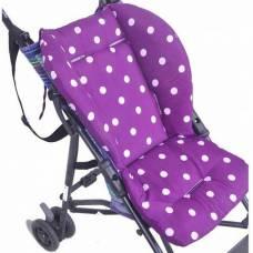М'який матрацик підкладка для дитячої коляски стільчика автокрісла, кольори