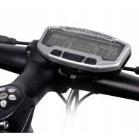 Велокомпьютер, одометр, спидометр, 28 функций, Sunding SD-558A проводной с подсветкой
