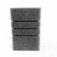 Фильтр -губка серая мелкопористая квадратная  8х8х12см. 1шт.