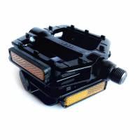 Чорні алюмінієві педалі NECO 625, шипы