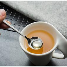 Чайная, кофейная ложка круглая, набор десертных ложек 5 шт.