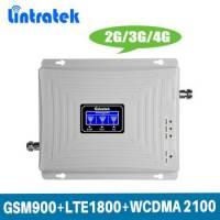 GSM DCS 3G 4G репитер, усилитель связи 900МГц 1800МГц WCDMA 2100 МГц