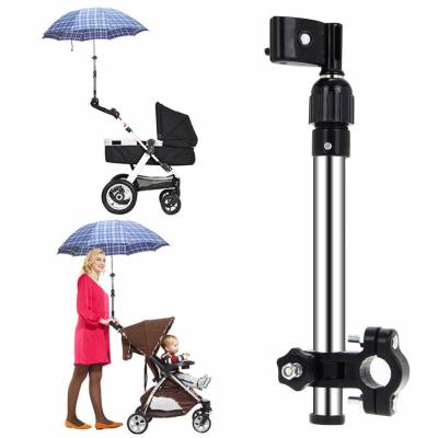 Держатель зонта для детской коляски, руль велосипеда, на стул