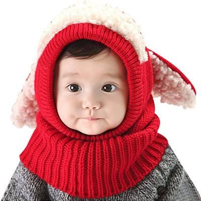 Дитяча шапочка з м'якої вовни