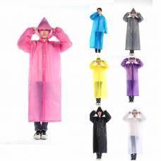 Удлиненный дождевик, модный дождевой плащ, расцветки