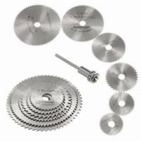 Набір з 6 відрізних кругів, дискових пилок HSS 22-50мм для дремеля гравера