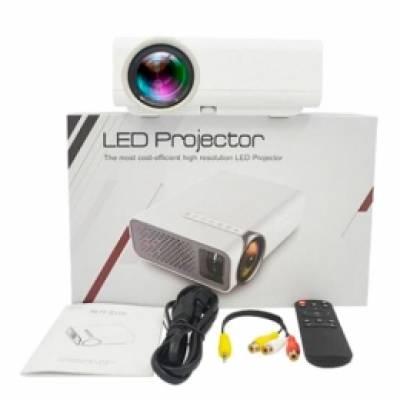 """Проектор мультимедійний портативний LCD 50-130 """"1800лм AC3 YG520"""