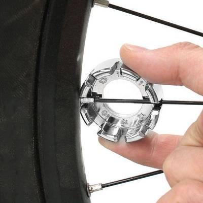 Шпицевий ключ для велосипеда Bike Hand ключ для спиць