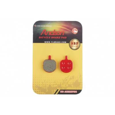 Гальмівні колодки велосипедні (дискові) 18.6х4х24.3 ARTEK (mod: SBP-1013)