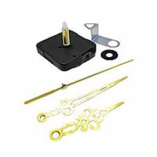 Часовой механизм со стрелками, шток 28мм, часы настенные дизайнерские