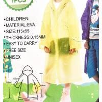 Детский дождевик, детский дождевой плащ, модный дождевой плащ