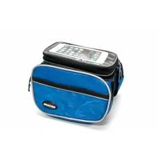 Нарамная сумка для велосипеда, велосумка Bravvos голубая
