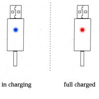 Аккумуляторная батарейка CR425 для поплавков с USB зарядкой