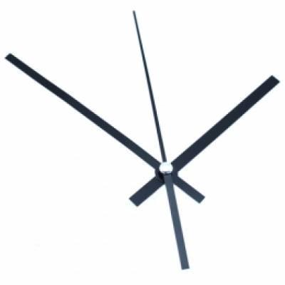 Стрілки для годинникового механізму, комплект з 3 стрілок, довгі