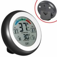Термометр гігрометр цифровий термогігрометр метеостанція CJ-3305F