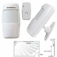 Бездротовий ІЧ датчик руху PIR 433МГц для GSM-сигналізації, тип B