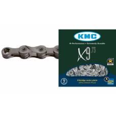 Цепь KMC X9, 9-ск., 116 звеньев + замок