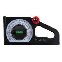 Измеритель уклона угломер-транспортир спиральный уровень 130 градусов