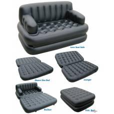 Надувной диван или надувная двуспальная кровать 5 в 1