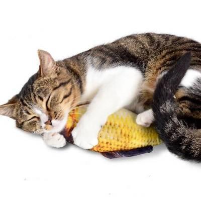 Зручна іграшка для маленьких та дорослих кішок