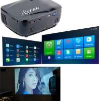 Проектор мультимедийный портативный LCD 28-150'' GP70UP Android Wi-Fi