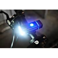 Machfally QD001 водонепроникний передній ліхтар для велосипеда з USB зарядкою фонарик для електросамоката