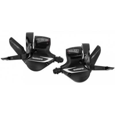 Манетки Shimano SL-M360 3x8 черные (комплект). Реплика