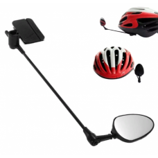 Дзеркало для велосипеда 360 градусів поворот 125 на 45 мм.