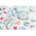 """Наклейки """"Цветочный рай"""", стикеры, 45 шт"""