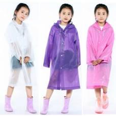 Дитячий дощовик, дитячий дощовий плащ, модний дощовий плащ